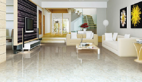 Tổng hợp các mẫu gạch lát nền phòng khách nhà ống được ưa chuộng nhất hiện nay