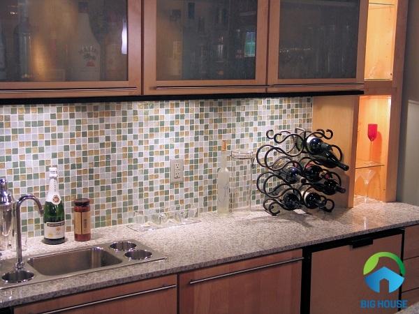 Mẫu gạch mosaic ốp bếp chất lượng hàng đầu