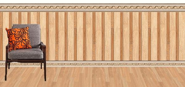 Gạch ốp chân tường giả gỗ: Top mẫu đẹp kèm báo giá chi tiết 2020