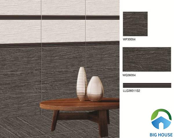 Gạch ốp chân tường phòng khách Bạch Mã LLG36011S2