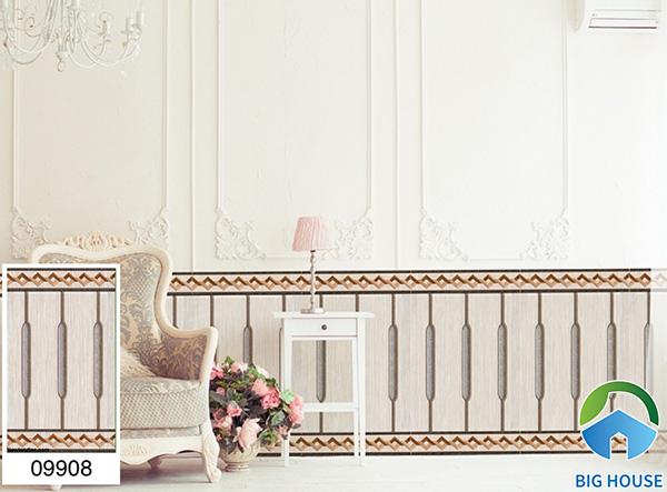 Gạch ốp chân tường phòng khách Prime 09908