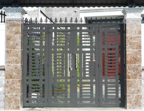 Lựa chọn họa tiết hợp phong cách giúp khu vực cổng nhà bạn hút hồn người nhìn