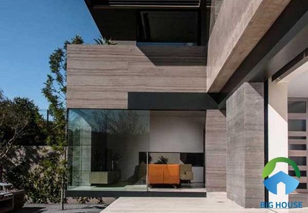 Những mẫu gạch giả gỗ rất hợp với không gian mang phong cách kiến trúc hiện đại