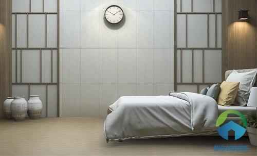 mẫu gạch ốp phòng ngủ kích thước hẹp