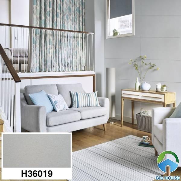 Gạch ốp tường phòng khách nhà cấp 4 Bạch Mã H36019