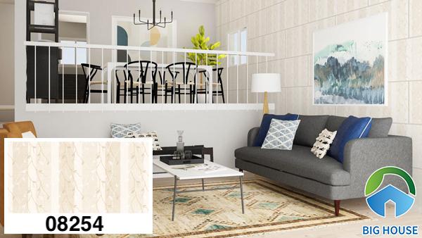 Gạch ốp tường phòng khách nhà cấp 4 Prime 08254