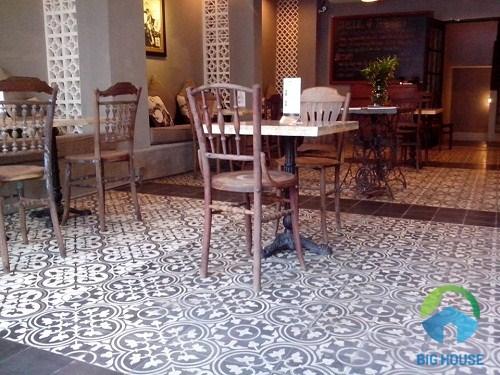 mẫu gạch lát quán cafe chất lượng cao