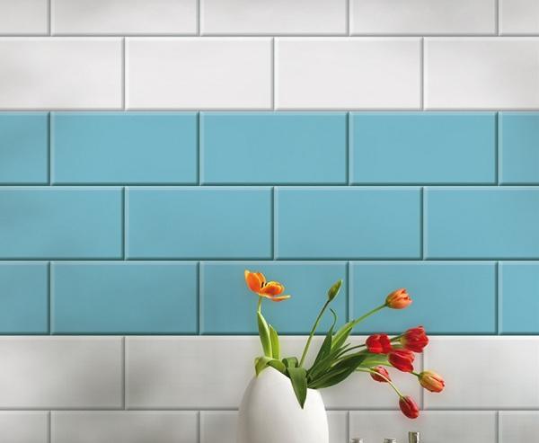 15 Mẫu gạch ốp bếp màu xanh Đẹp –  đứng đầu xu hướng 2020