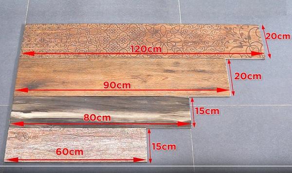 Các mẫu gạch thẻ giả gỗ ốp lát ấn tượng