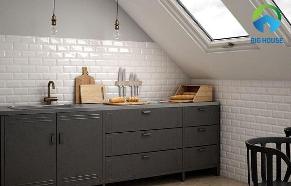 20 mẫu gạch ốp bếp Đẹp, Ấn tượng kèm Bảng giá chi tiết