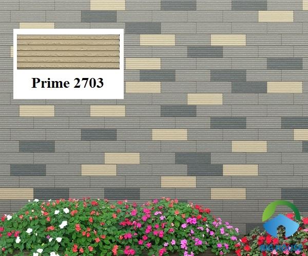 Prime 2703 là mẫu gạch thẻ màu kem ốp điểm nhấn cho tường bao thêm ấn tượng
