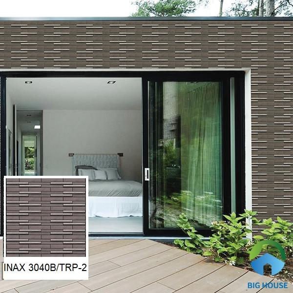 Mẫu gạch Inax 3040B/TRP - 2 ốp tường ngoại thất giúp bảo vệ tường hiệu quả