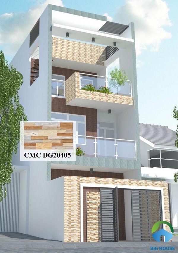 Hay bạn cũng có thể chọn mẫu gạch CMC DG 20405 kích thước ốp ngoại thất rất thu hút