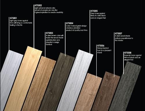 Gạch lát nền giả gỗ Bạch mã