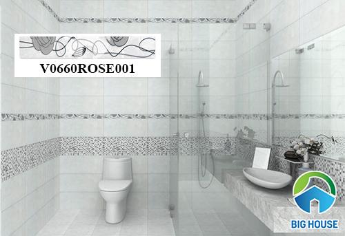 gạch viền 60 ốp nhà tắm