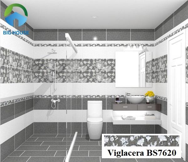 Hoặc bạn có thể tham khảo mẫu gạch viền Viglacera BS7620 7x60 với họa tiết hoa lá đắc sắc. Tuy nhiên, mẫu gạch này sẽ thích hợp với những gia chủ có tính cách mạnh mẽ