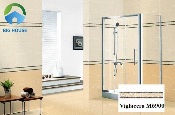 Phòng tắm hút hồn người nhìn từ cái nhìn đầu tiên nhờ gạch điểm Viglacera M6900