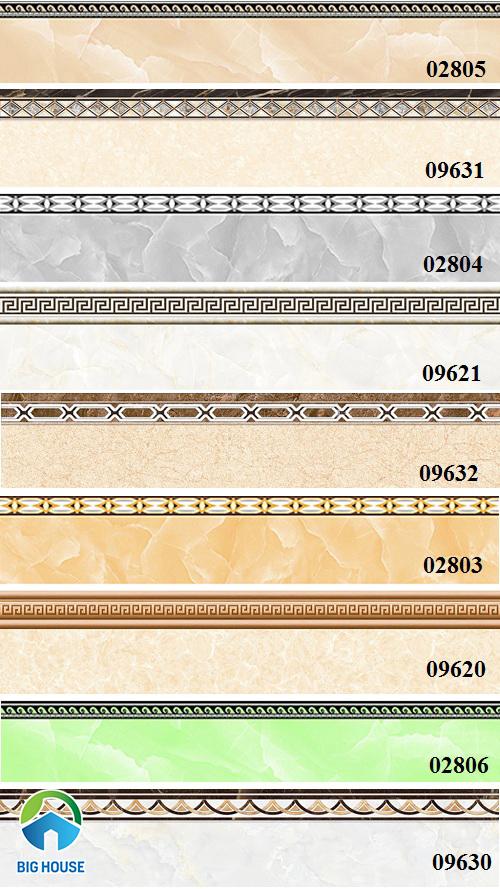 Các mẫu gạch viền chân tường 12x60 phổ biến nhất 2021