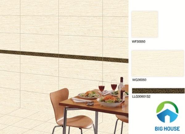 Bộ gạch viền chân tường Bạch Mã WF30050 - WG36050 - LLG30601S2