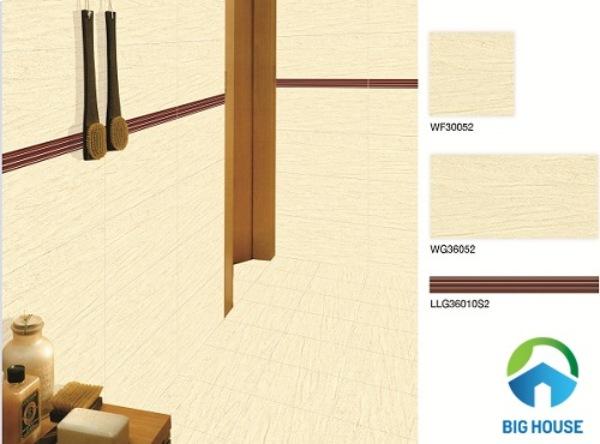 Bộ gạch viền chân tường Bạch Mã WF30052 - WG36052 - LLG36010S2