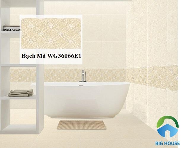 Gạch Bạch Mã WG36066E1 là một sự lựa chọn tuyệt vời ốp tường trang trí nhà bạn
