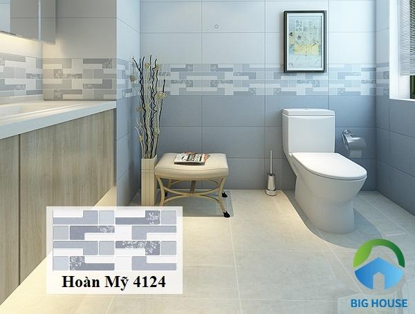 Gạch viền 30x60 Hoàn Mỹ ốp tường 4124 giúp không gian toát lên vẻ đẹp thanh lịch và sang trọng