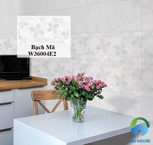 Gạch Bạch Mã W36004E2 có màu sắc nhã nhặn, họa tiết tinh tế