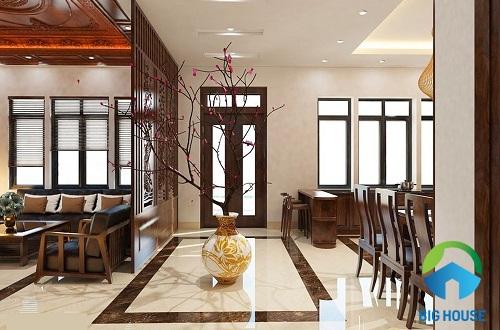 Top mẫu gạch viền phòng khách Đẹp – Hút mắt và Cách dùng