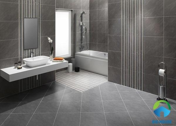kích thước gạch ceramic cho phòng khách lớn
