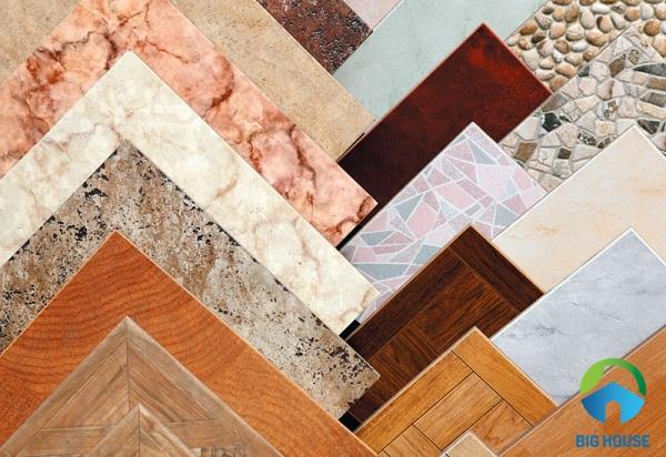 Dòng gạch ceramic thường được sản xuất với kích thước nhỏ