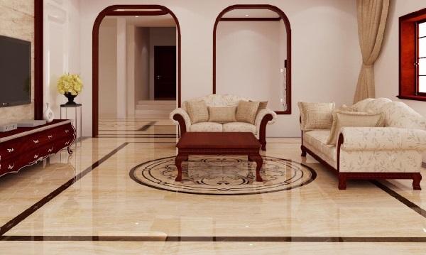 Gạch viền phòng khách: Top mẫu Đẹp – Hút mắt và Cách dùng