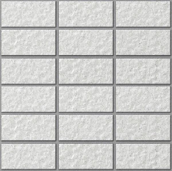 map gạch ốp tường màu trắng