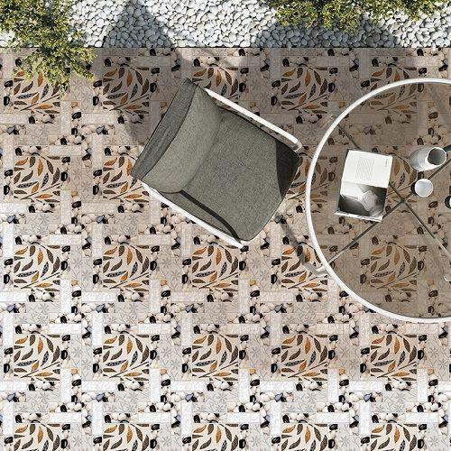 Gạch lát nền định hình cho khu vực ban công tinh tế