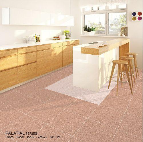 Gạch lát nền nhà bếp Bạch mã mang vẻ đẹp ấm áp