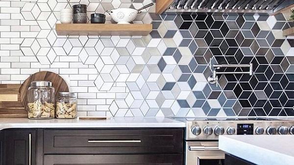 Gạch ốp bếp lục giác: TOP mẫu Đẹp – chuẩn xu hướng hiện đại
