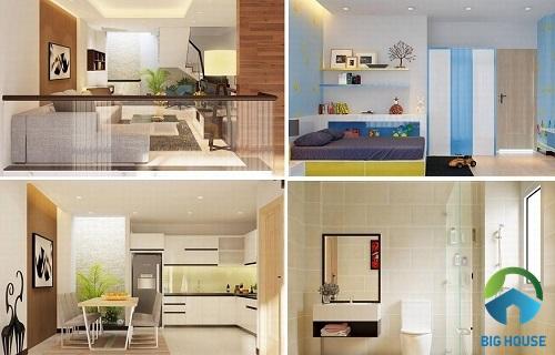 thiết kế nhà lệch tầng 4x10 hiện đại nhất